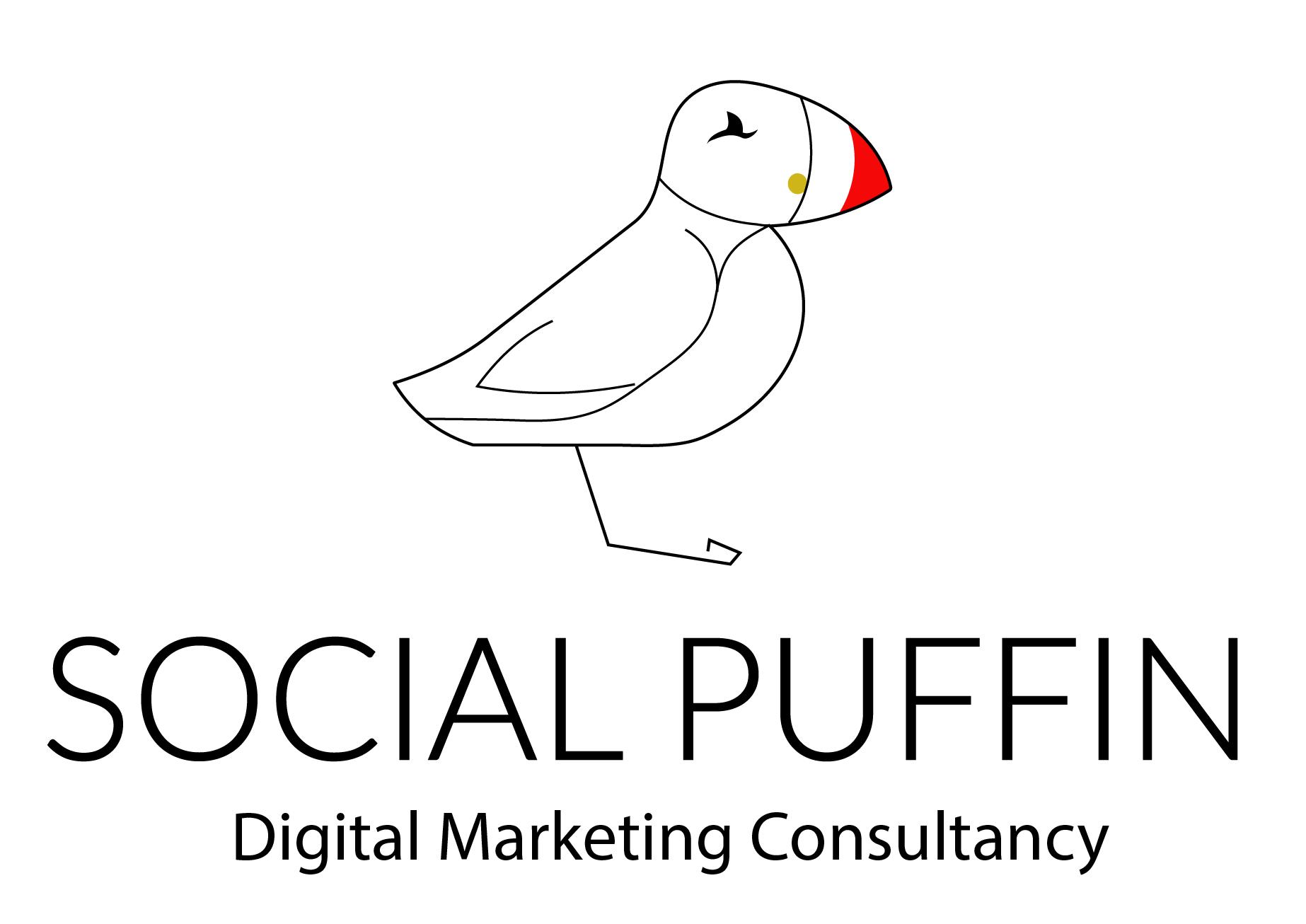 Social Puffin Logo
