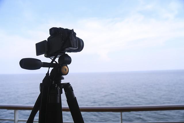 Camera, Tripod, View
