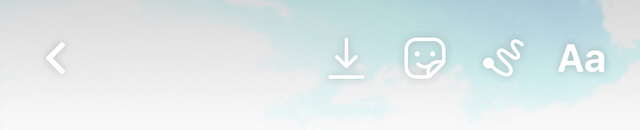 Instagram Story Options on Reels
