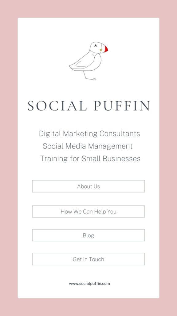 Social Puffin - Instagram Bio Link